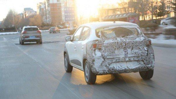 Renault Kwid EV rear look
