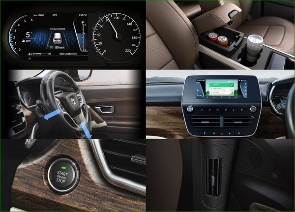 all-new Tata Harrier, interior features