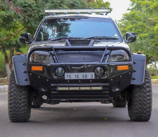 Tata Xenon extreme modified front