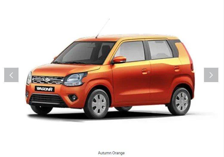 2019 maruti wagonr autumn orange