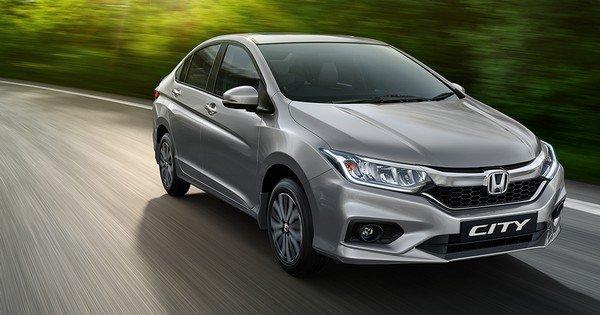 Honda City silver front look