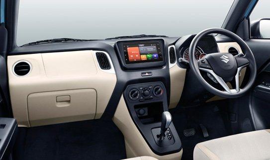 2019 maruti wagonr dashboard