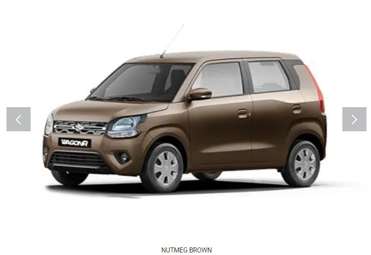 2019 maruti wagonr nutmeg brown