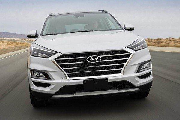 Hyundai Tucson front look