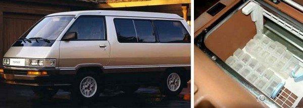 ice maker in the 1984 Toyota van