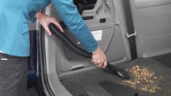 in-built vacuum cleaner in 2014 Honda Odyssey