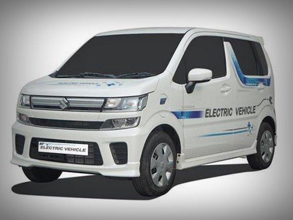 Maruti WagonR EV, front view