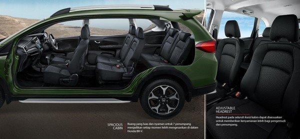 Honda BR-V cabin