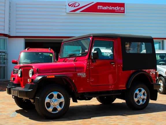 2018 Mahindra Thar red side profile