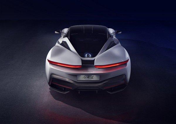 Pininfarina Battista rear look