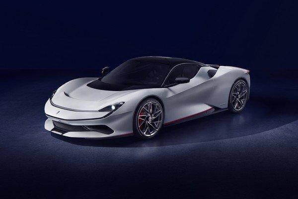 Pininfarina Battista front look