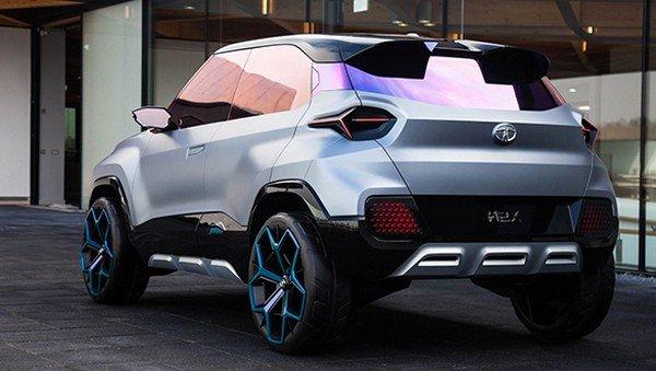 Tata H2X rear view