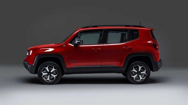 Jeep Compass PHEV, side profile