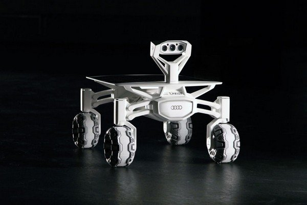 The brand new Audi Lunar rover