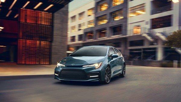 2020 Toyota Corolla, front angular look