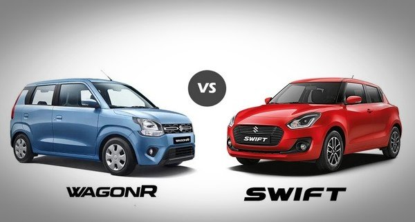Maruti WagonR vs Maruti Swift