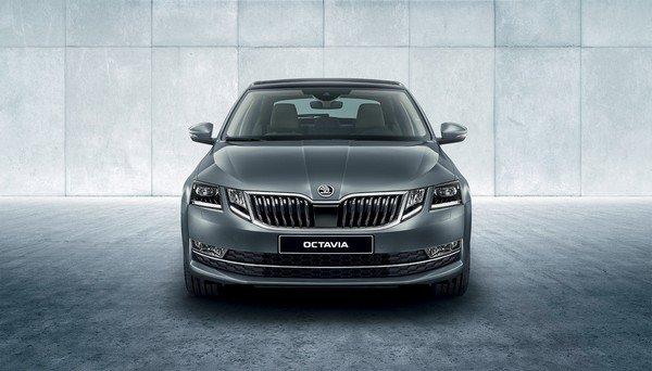 Skoda Octavia Corporate Edition front look