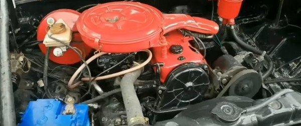 modified Hindusan Motors Contessa engine