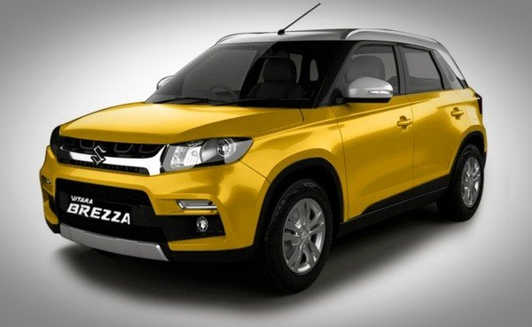 2018 vitara brezza, front and side profile