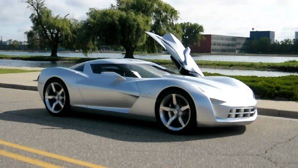 10 Transformers Cars That Top Our List Of Wants! - white  Corvette Stingray Concept