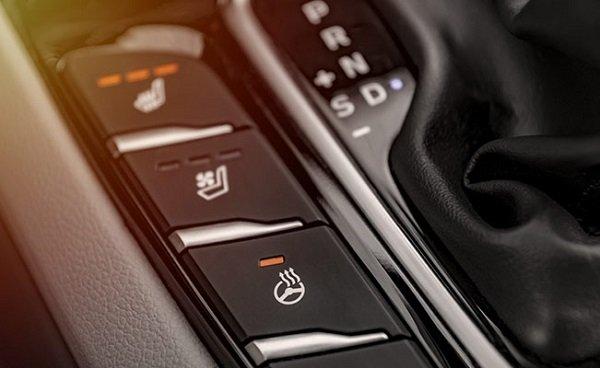 interior features in car