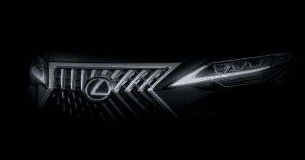 Lexus MPV teaser image front look