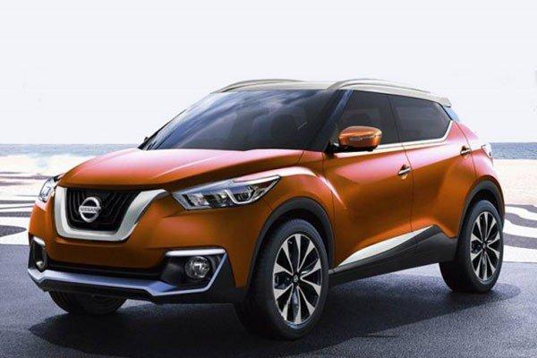 2019 nissan juke orange front angle