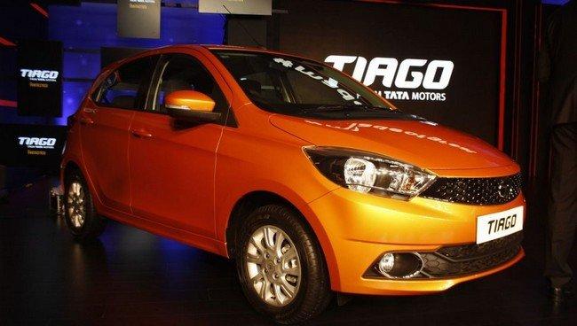 Tata Tiago front three quarter launched
