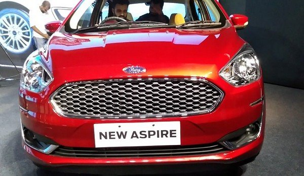 Ford Aspire exterior look