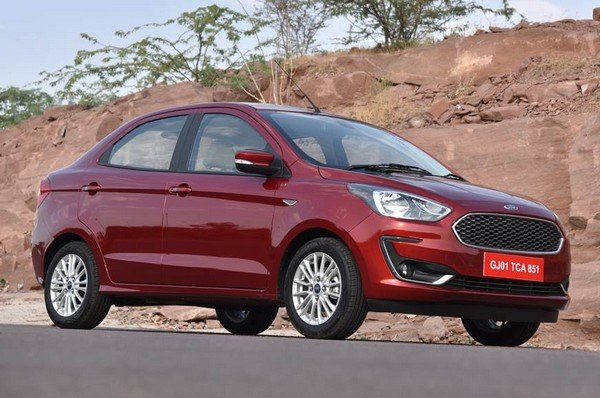 Ford Aspire 2015 exterior look