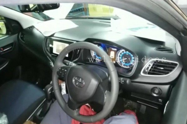 Toyota Glanza Spotted Being Driven For The First Time Video