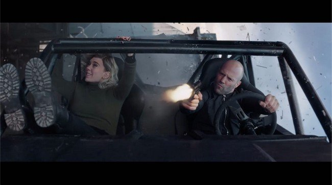 Fast & Furious action scenes