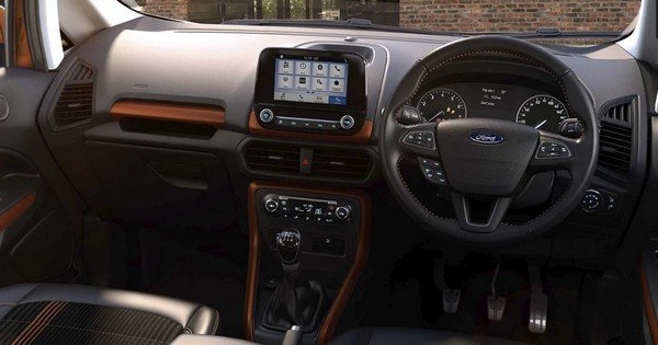 ford ecosport interior look