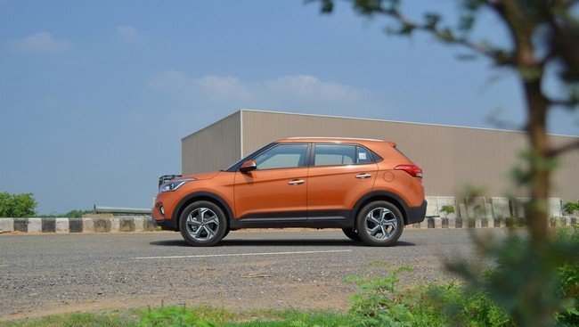 2019 Hyundai Creta still side