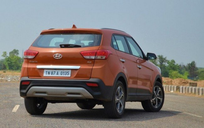 2019 Hyundai Creta rear still