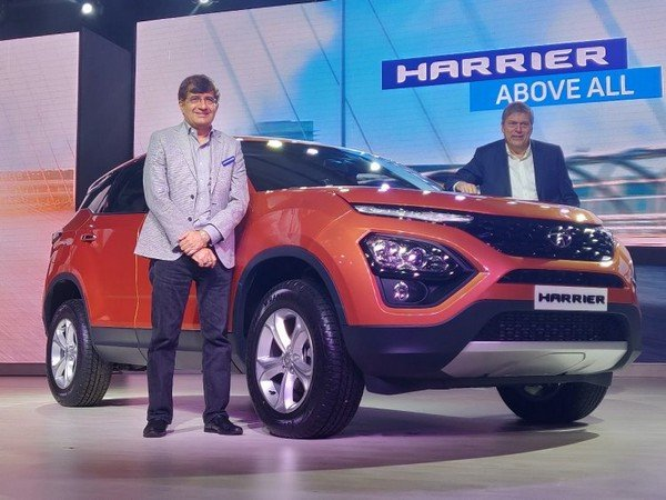 2019 tata harrier orange front angle launched