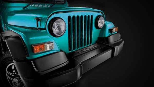 mahindra thar Special Edition new color front bumper