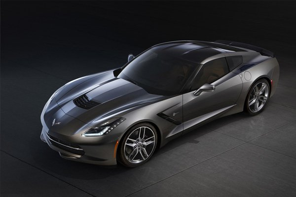 Black Widow's Chevrolet Corvette Stingray