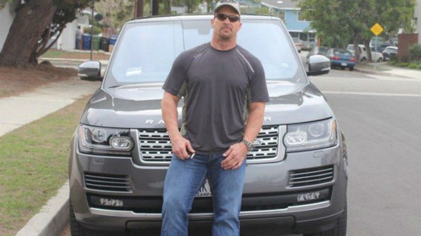Stone Cold Land Rover range rover autobiography silver front
