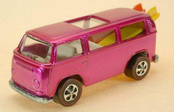 Hot Pink Volkswagen Beach Bomb