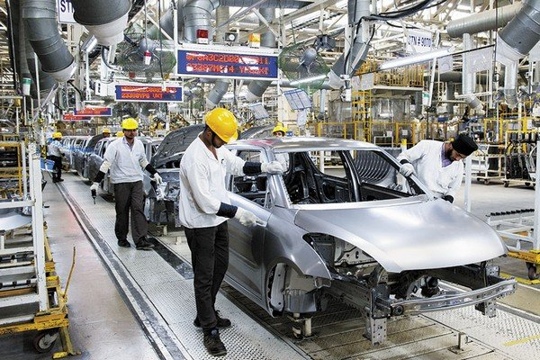 maruti suzuki dzire production line