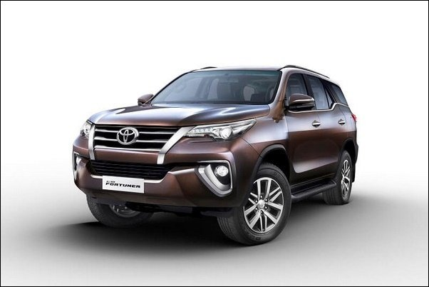 2019 toyota fortuner front angle