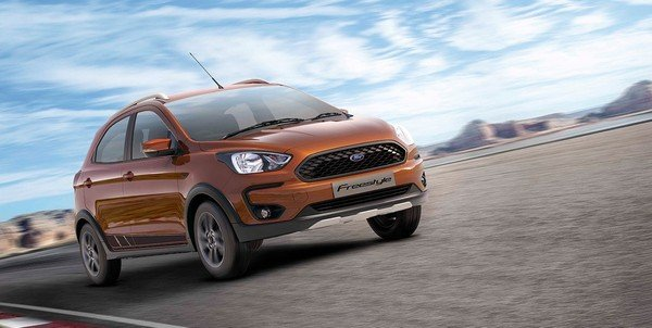 ford freestyle brown front three quarters