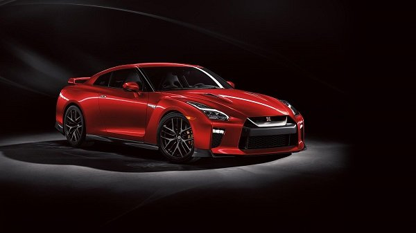 nissan gt-r 2019 red front angle