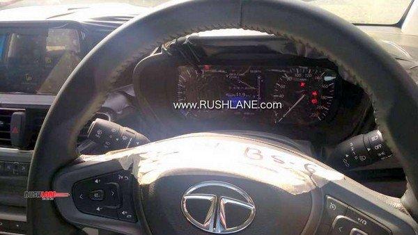 tata altroz spied steering wheel