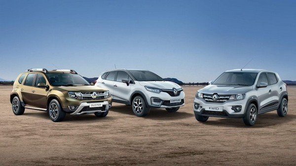 renault duster captur and kwid