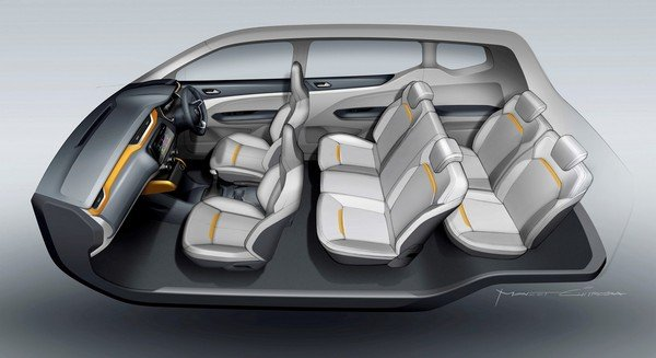 renault triber seven seater setting