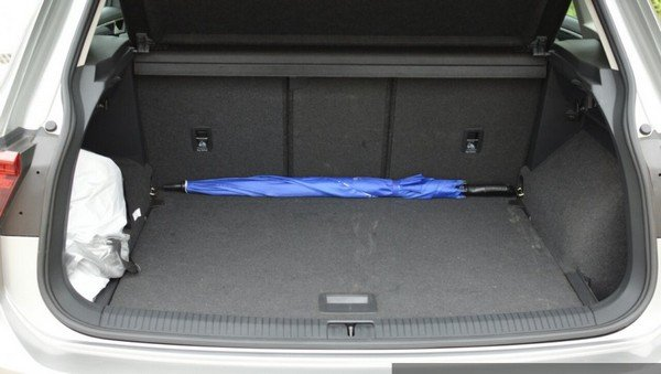2017 Volkswagen Tiguan Boot Space