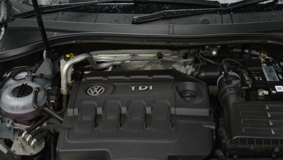 2017 Volkswagen Tiguan engine