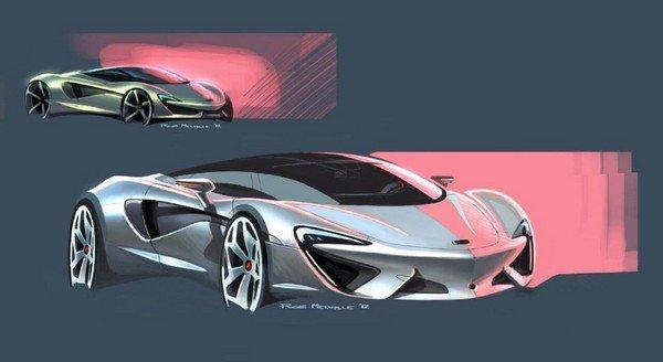 Mclaren car design
